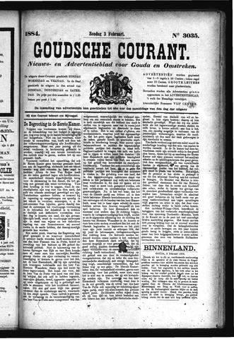 Goudsche Courant 1884-02-03