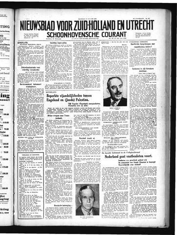 Schoonhovensche Courant 1949-01-10