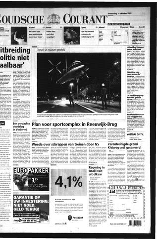 Goudsche Courant 2002-10-31