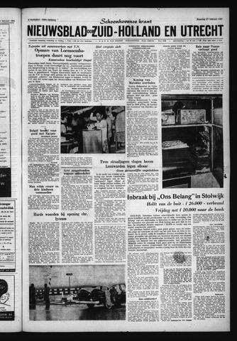 Schoonhovensche Courant 1961-02-27