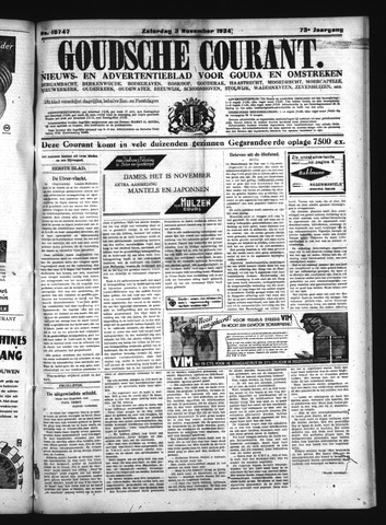 Goudsche Courant 1934-11-03