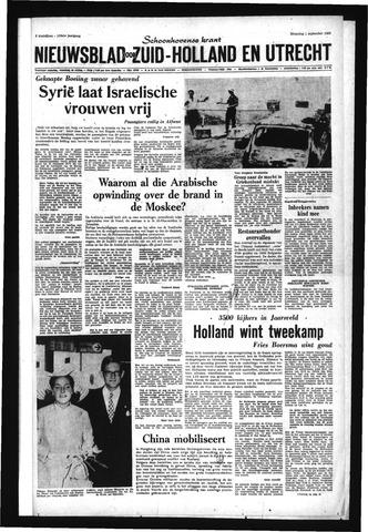 Schoonhovensche Courant 1969-09-01