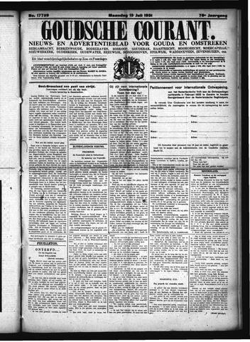 Goudsche Courant 1931-07-13