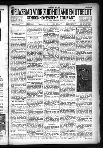 Schoonhovensche Courant 1932-04-25