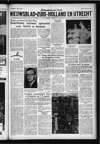 Schoonhovensche Courant 1961-09-22