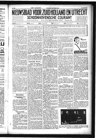 Schoonhovensche Courant 1933-09-25