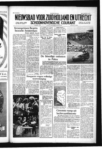 Schoonhovensche Courant 1956-07-02