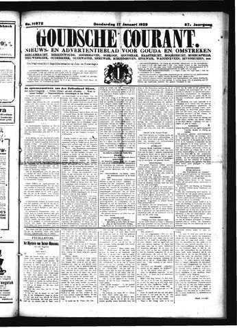 Goudsche Courant 1929-01-17