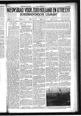 Schoonhovensche Courant 1933-10-20