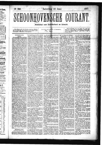 Schoonhovensche Courant 1887-06-18