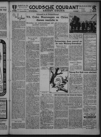 Goudsche Courant 1949-01-22