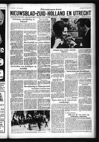Schoonhovensche Courant 1966-02-28