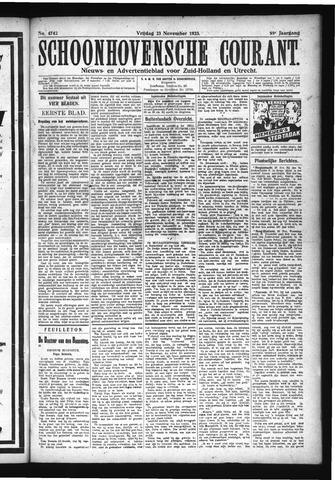 Schoonhovensche Courant 1923-11-23