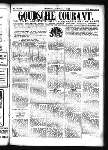 Goudsche Courant 1927-02-03