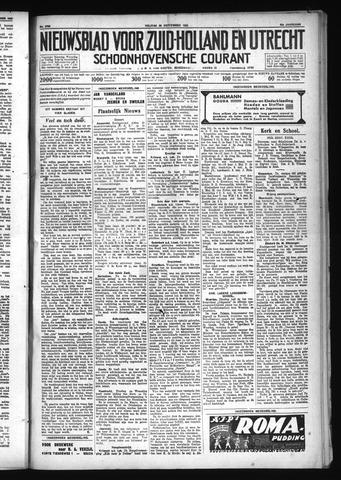 Schoonhovensche Courant 1930-09-26