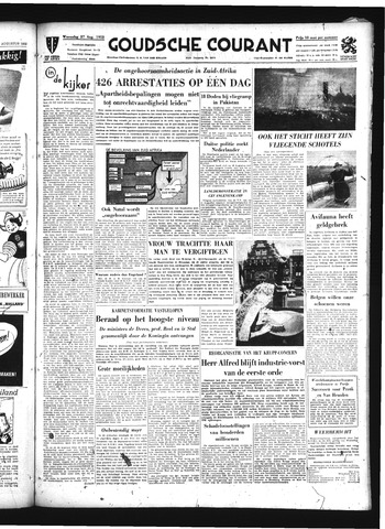 Goudsche Courant 1952-08-27
