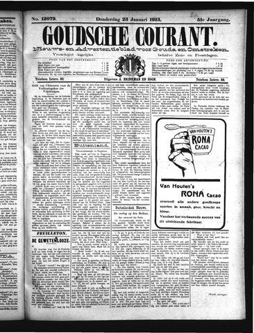 Goudsche Courant 1913-01-23