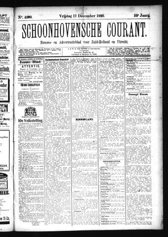 Schoonhovensche Courant 1920-12-17