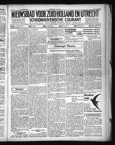 Schoonhovensche Courant 1936-07-08