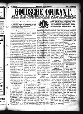 Goudsche Courant 1927-03-21