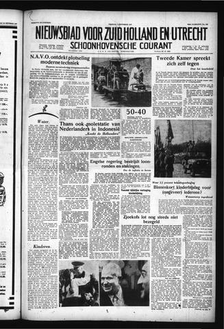 Schoonhovensche Courant 1957-11-01