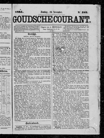 Goudsche Courant 1865-11-26