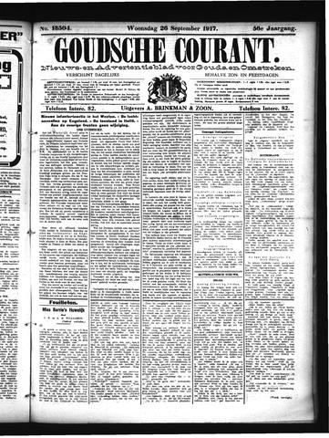 Goudsche Courant 1917-09-26