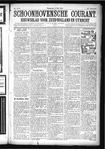 Schoonhovensche Courant 1926-05-03