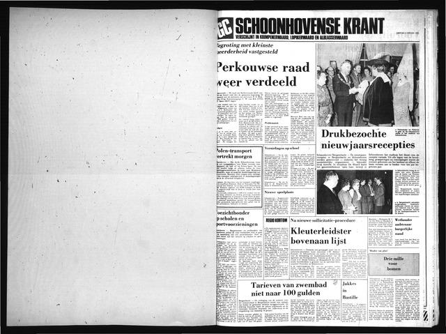 Schoonhovensche Courant 1983