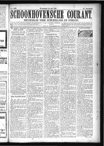 Schoonhovensche Courant 1925-07-15