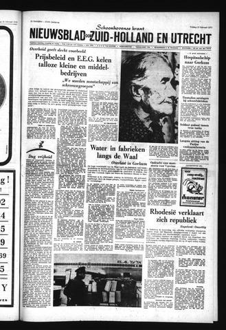 Schoonhovensche Courant 1970-02-27