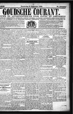 Goudsche Courant 1922-09-21