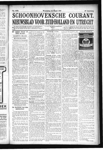 Schoonhovensche Courant 1927-03-23