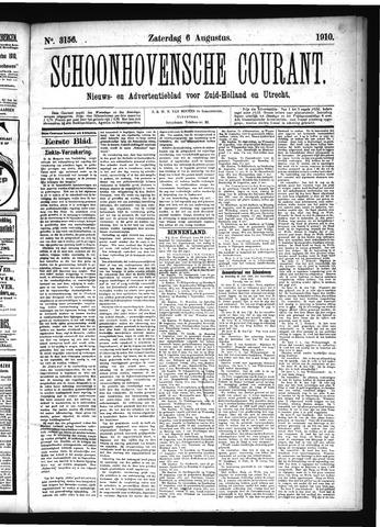 Schoonhovensche Courant 1910-08-06