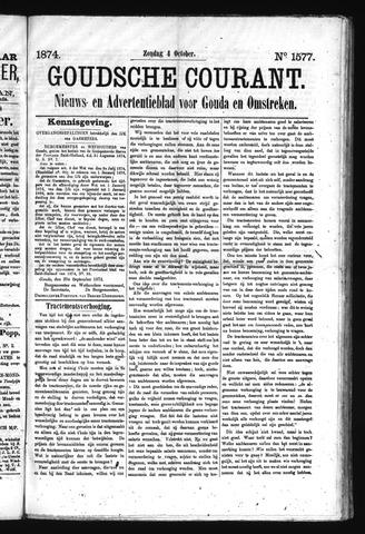 Goudsche Courant 1874-10-04
