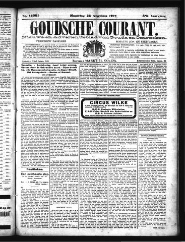 Goudsche Courant 1919-08-25
