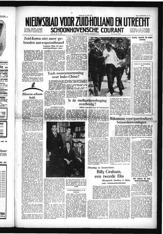Schoonhovensche Courant 1954-06-18