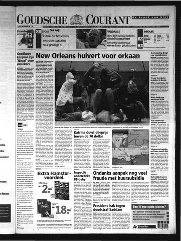 Goudsche Courant 2005-08-29
