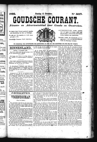 Goudsche Courant 1892-12-13