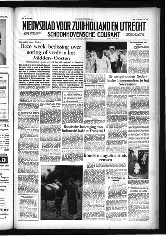 Schoonhovensche Courant 1956-09-03