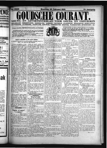 Goudsche Courant 1933-02-20