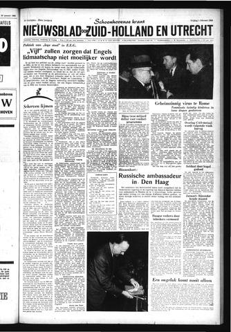 Schoonhovensche Courant 1963-02-01