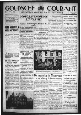 Goudsche Courant 1940-05-07