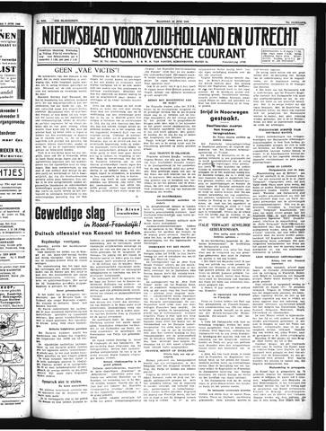 Schoonhovensche Courant 1940-06-10