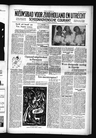 Schoonhovensche Courant 1955-12-23