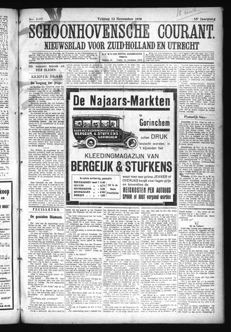 Schoonhovensche Courant 1926-11-12