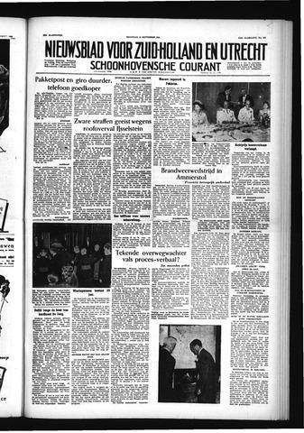 Schoonhovensche Courant 1955-09-12