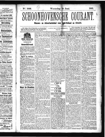 Schoonhovensche Courant 1901-06-12