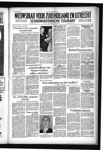 Schoonhovensche Courant 1954-12-20
