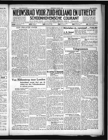 Schoonhovensche Courant 1936-03-18